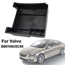 Armrest Storage Box Organizer Tray For Volvo V60 S60 2010-2017 XC60 2009-2017