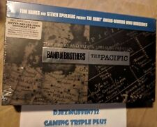 BAND OF BROTHERS + THE PACIFIC 13-DISC BLU-RAY GIFT SET (SPIELBERG) HBO (DAMAGE)