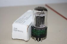 JAN 6SN7WGTA PHILIPS ECG VINTAGE NOS TUBE - 6SN7 NEW OLD STOCK - SUPERB AUDIO!
