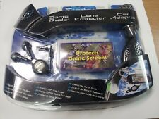 PSP Starter Kit - Game Buds - Lens Protector - Car Adaptor - Intec New & Sealed