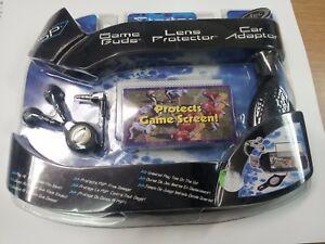 PSP Starter Kit - Game Buds - Lens Protector - Car Adaptor - Intec New & Sealed