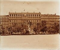 Toulon Grand Hotel Francia Placca M19 Stereo Vintage Positivo 6x13cm