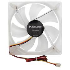 Koolance Fan, 120x25mm, 108 CFM, Blue LED, Part No. FAN-12025HLED