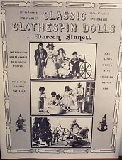 Classic Clothespin Dolls by Doreen Sinnett