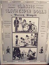 Classic Clothespin Dolls by Doreen Sinnett