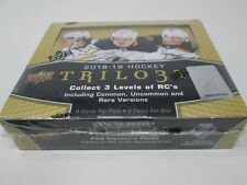 2018-19 UPPER DECK TRILOGY HOCKEY HOBBY SEALED BOX