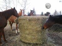 Slow-Feeder-Hay-Net-Bag-4x4-Round-Bale-Steady Horse Hay Net Bag 40X40 AUST