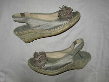 Clarks Wedge Casual Textile Upper Shoes for Women