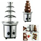 4 Tiers Commercial Stainless Steel Hot New Luxury Chocolate Fondue Fountain