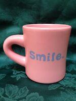 Life Is Good Home LIG Pink ** SMILE ** Coffee Mug Tea Cup