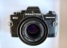 Praktica BM Electronic SLR Camera with a  Pentacon Prakticar 1:1.8-50m MC  Lens