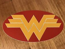 Comic Box Logo Label - Wonder Woman - Short box/ Long Box Emblem