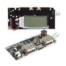 Dual USB 5V 1A 2.1A Mobile Power Bank 18650 Li Battery Charger Module Board PCB