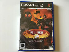 counter terrorist special forces fire for effect PS2 boite et notice