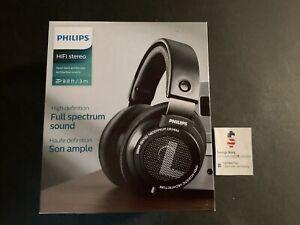 Philips SHP9500 HiFi Precision Stereo Over the Ear Headphones Black Open Back