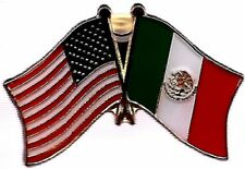 Wholesale Pack of 24 USA American Mexico Flag Hat Cap lapel Pin