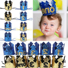Infant Baby Cute Boy Birthday Party Shiny Crown Headband Decoration Hair Bands