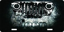 Jeep 4 x 4 Mud 4-Wheel-Drive License Plate Car Truck Tag