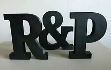 Free Standing 3D Printed Letters Name Large Numbers Colours Available PEK UK