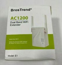 BrosTrend 1200Mbps WiFi Range Extender Signal Booster Repeater