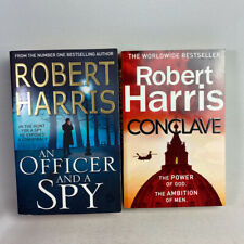 2 Robert Harris Paperback Books Bundle - An Officer and A Spy, Conclace