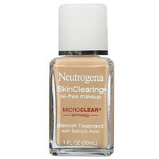 Neutrogena SkinClearing Liquid Makeup, Nude [40] 1 oz