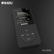100% original versión Inglés Ultrafino Reproductor de MP3 con 8 GB de almacena