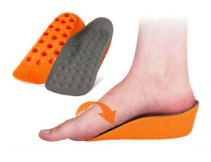 2 COLOURS INSTANT HEIGHT INCREASING INSOLES- UNISEX