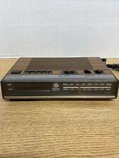 Vintage Digital Radio Alarm Clock Ge 7-4624B Tested Works Great Very Clean! B2