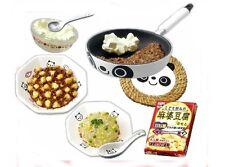 Re-ment dollhouse miniature panda saucepan trivet spicy tofu bean curd 2007