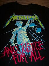 METALLICA AND JUSTICE FOR ALL T-Shirt XL NEW Band Metal