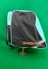 Vintage SALOMON Club Ski Boot Bag Neon 80s Retro