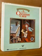 A Christmas Carol - RCA CED Videodisc *Good condition* *RARE*
