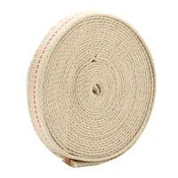 4.5M Feet White Flat Cotton Alcohol Wick Oil Lamp Wicks Burner Oil Lamps Rope