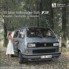 VW Bus T3 - 30 Jahre T3  Ausstellungs-Begleitheft - NEU