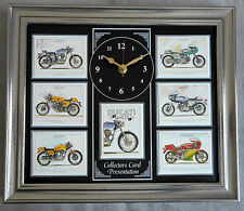 Ducati Stunning Collector Cards Wall Clock
