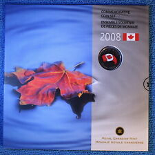 Canada 2008 - Oh Canada Gift Set - Special Maple Leaf Quarter (25 cents)