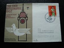 SUISSE - enveloppe 2/12/1962 (cy59) switzerland