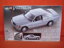 Revell ® 7158 Mercedes-Benz 560 SEC Premium 1:24