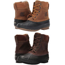 detailed look d702c 2cdc0 Sorel Mens Cheyanne II Lace Up Waterproof Cold Weather Insulated Snow Boots
