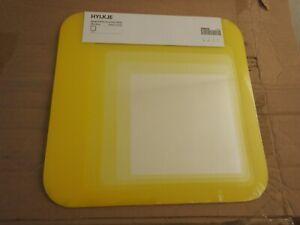 "IKEA MIRROR FRAME TILE LOT OF 6 HYLKJE 11.75"" INCHx11.75"" INCH 102.174.81 NEW"