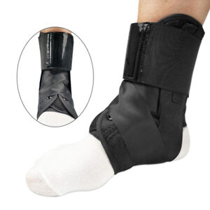 Ankle Brace Support Stabilizer Compression Sleeve Plantar Fasciitis Pain Relief