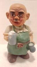 Vintage 1960's Heico West Germany Brew Master Bartender Bobblehead Nodder W/Tag