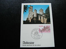 FRANCE - carte 1er jour 18/2/1978 (eglise abbatiale aubazine) (cy45) french