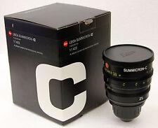 Leica PL mount 25mm T2.0 Summicron-C Lens PL Mount lens