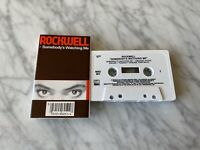 Rockwell Somebody's Watching Me CASSETTE Tape 1984 Motown 6052MC Michael Jackson