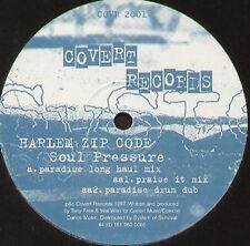 HARLEM ZIP CODE - Soul Pressure - 1997 Covert - COVR 2001