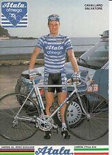 SALVATORE CAVALLARO Cyclisme Ciclismo Cycling ATALA 87