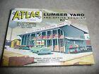 NEW 1:87 HO SCALE Atlas Lumber Yard - Kit #750  (EA-0-7005) - RARE