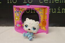 Littlest Pet Shop Pet Nook Chow Chow White Puppy Dog #384